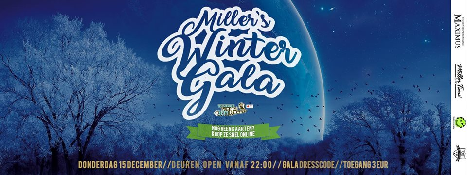 Maximus & Socialize presenteren: Miller's Winter Gala