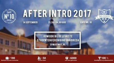 Maximus presenteert: After Intro 2017
